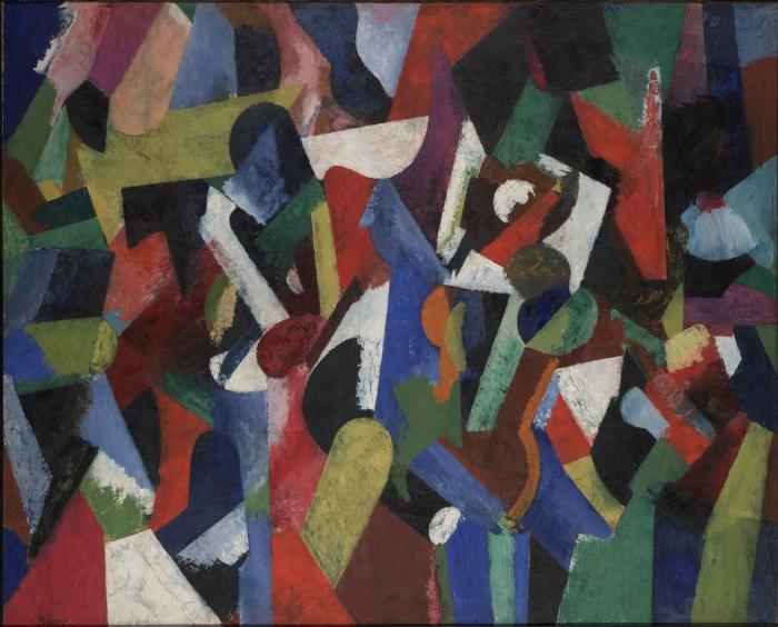Composition V - Patrick Henry Bruce