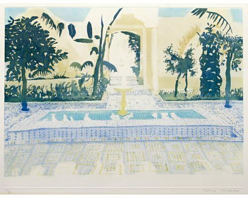 Favourite's Courtyard - Patrick Procktor
