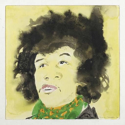 Jimi Hendrix - Patrick Procktor
