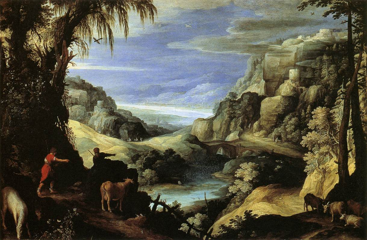 Landscape with Mercury and Argus, 1606
