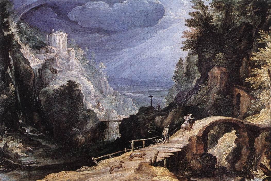 Mountain Scene, 1599