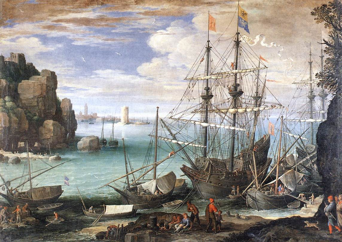 View of a Port, 1607