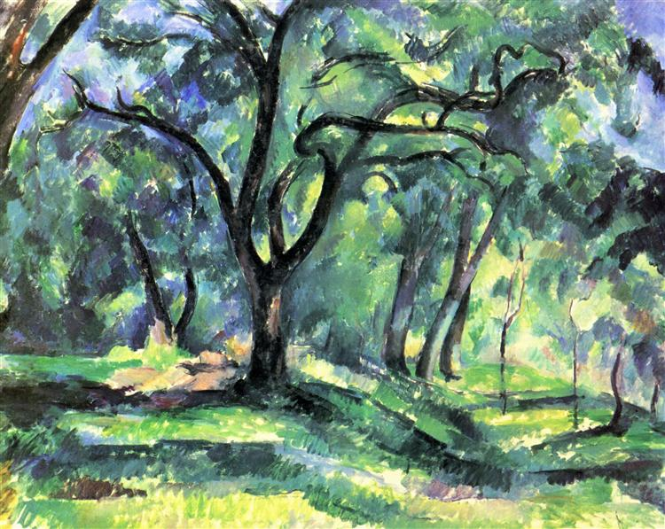 Forest, c.1890 - Paul Cezanne