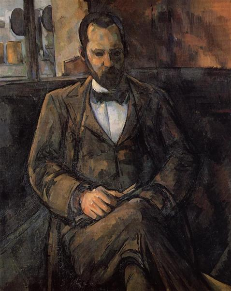 Portrait of Ambroise Vollard, 1899 - Paul Cezanne