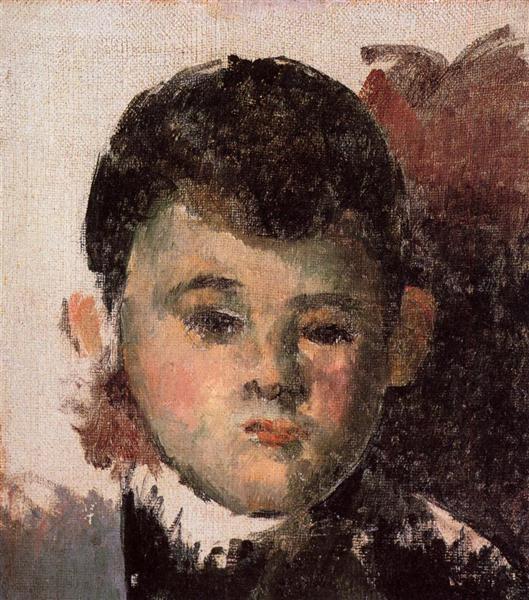 Portrait of the Artist's Son, 1878 - Paul Cézanne