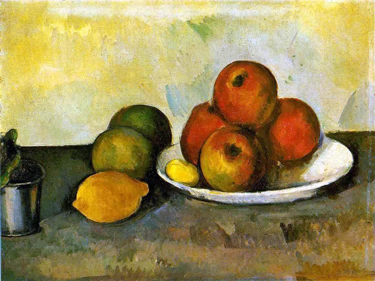 Still life with Apples, c.1890 - Paul Cezanne