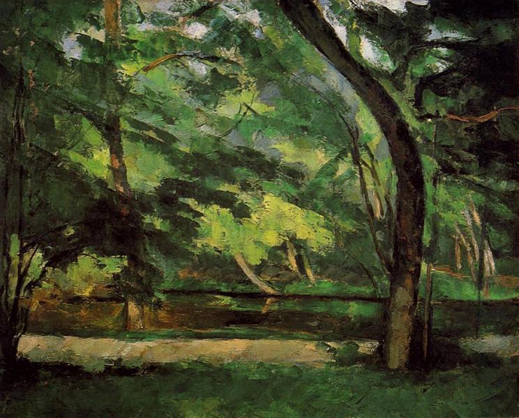 The Etang des Soeurs at Osny, 1875 - Paul Cezanne