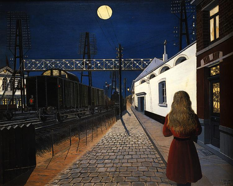 Loneliness, 1956 - Paul Delvaux
