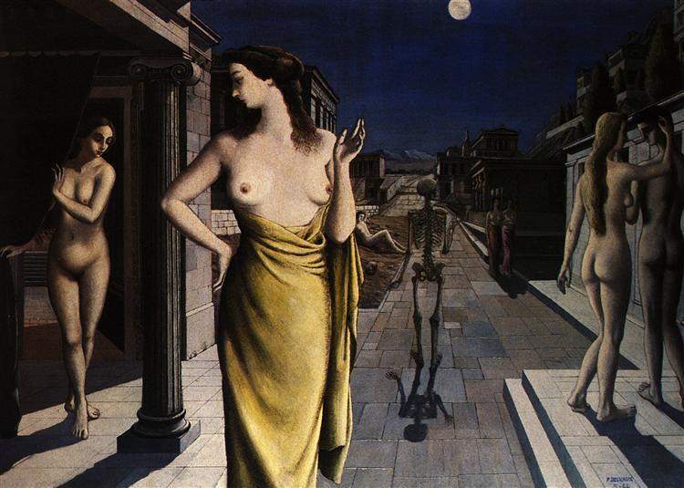 Lunar City, 1944 - Paul Delvaux