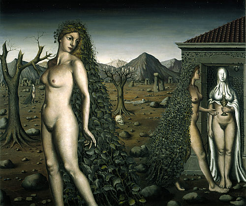 Night Visit - Paul Delvaux