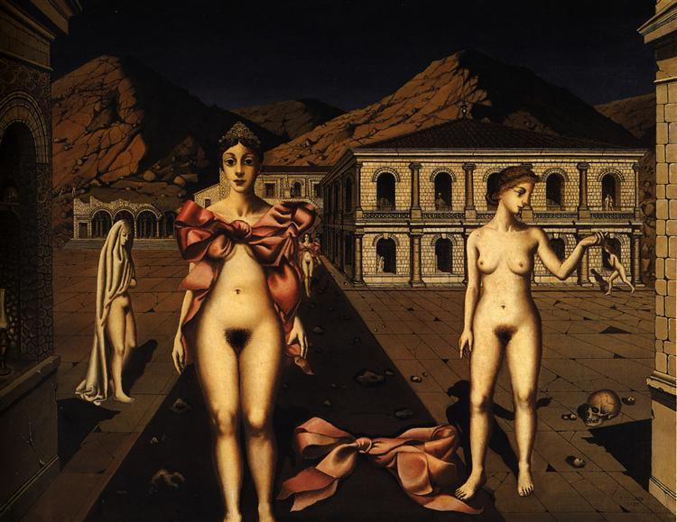 Nodes Rose, 1937 - Paul Delvaux