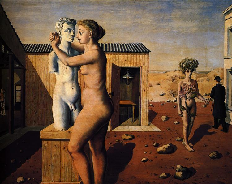 Pygmallion - Paul Delvaux