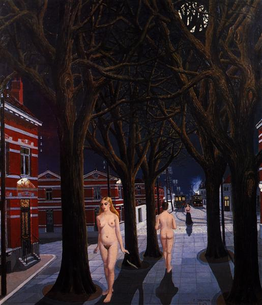 The Beautiful Night, 1962 - Paul Delvaux