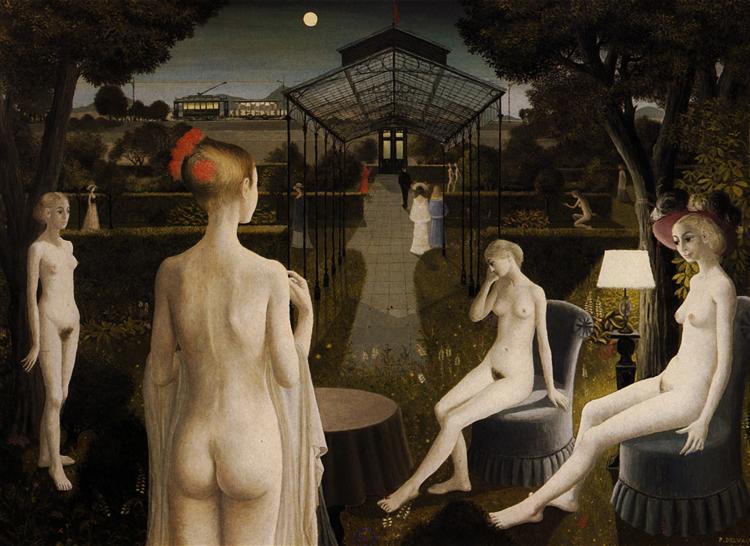 The Garden, 1971 - Paul Delvaux