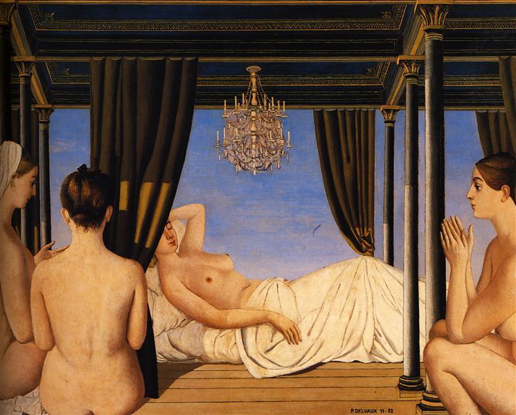 The Lustre, 1952 - Paul Delvaux