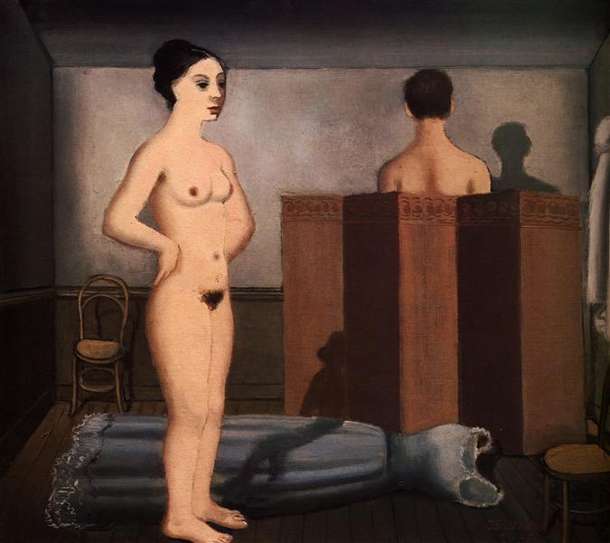 The Screen, 1935 - Paul Delvaux