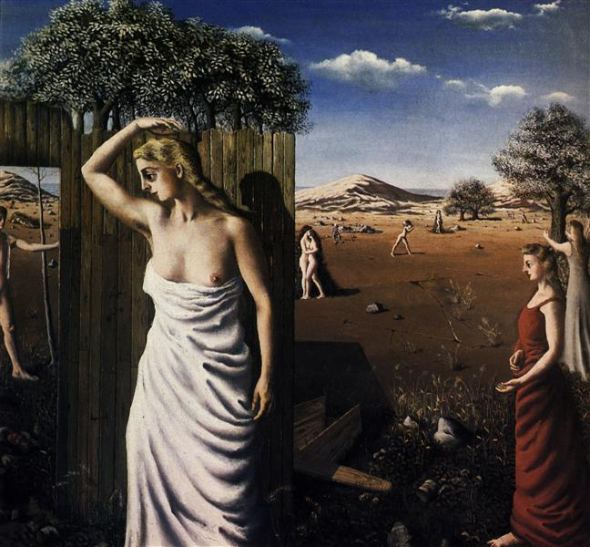 The Summer, 1938 - Paul Delvaux