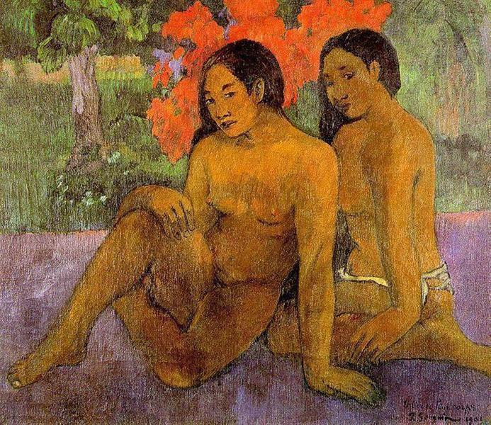 And the Gold of Their Bodies, 1901 - Paul Gauguin