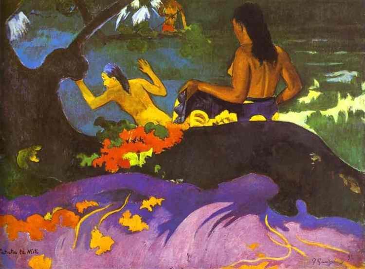 By the Sea, 1892 - Paul Gauguin