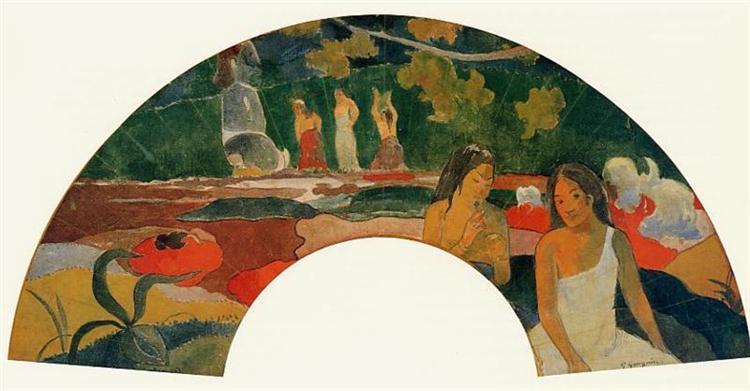 Joyousness, 1892 - Paul Gauguin