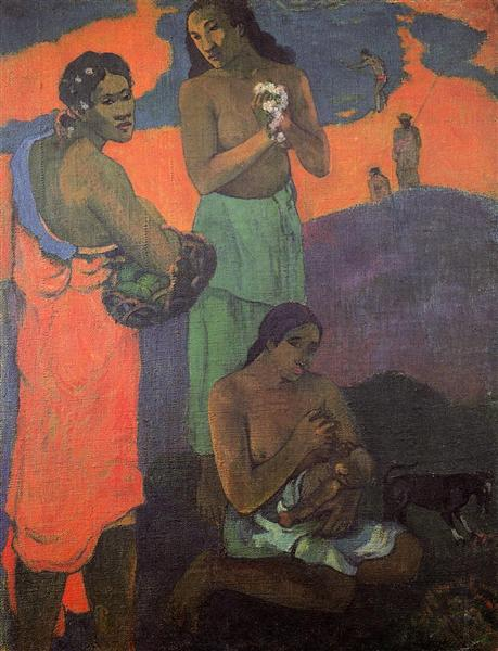 Maternity (Three Women on the Seashore), 1899 - Paul Gauguin