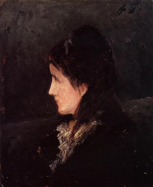 Portrait of Ingeborg Thaulow, 1877 - Paul Gauguin