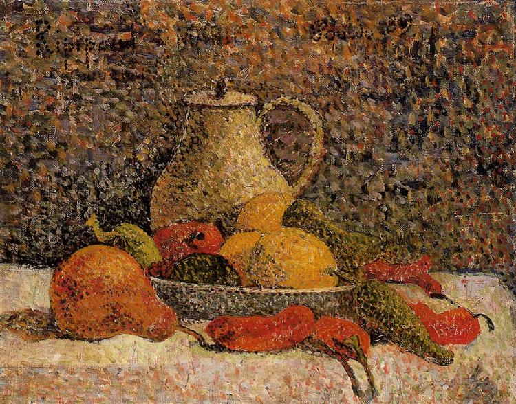 Still life Ripipont, 1889 - Paul Gauguin