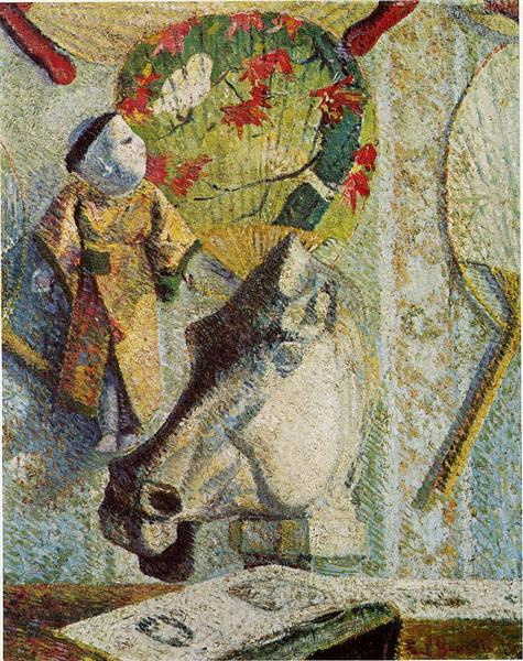 Still life with horse's head, 1886 - Paul Gauguin
