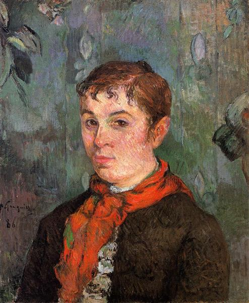 The boss's daughter, 1886 - Paul Gauguin