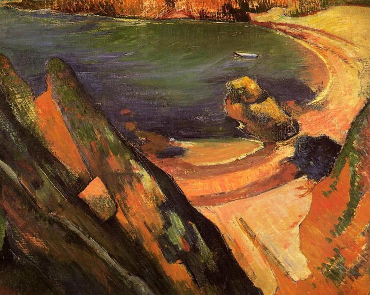 The creek, Le Pouldu, 1889 - Paul Gauguin