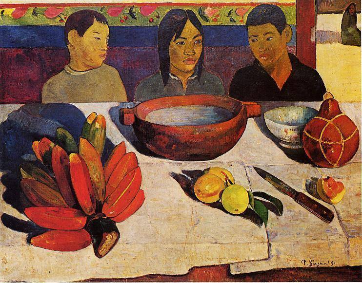 The Meal (The Bananas), 1891 - Paul Gauguin