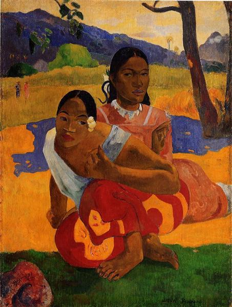 When are you Getting Married?, 1892 - Paul Gauguin