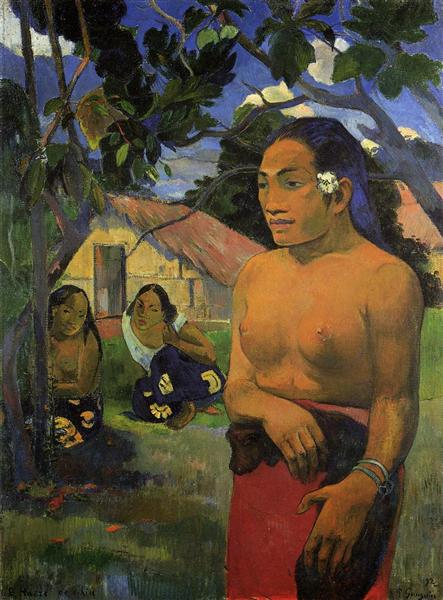 Where are you going?, 1892 - Paul Gauguin