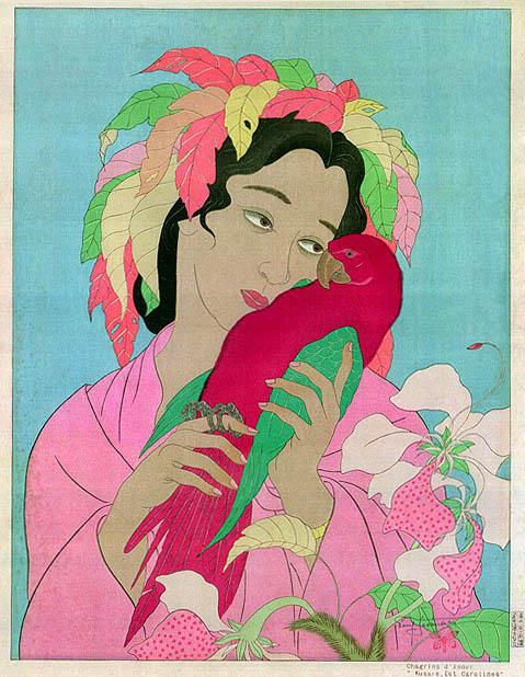 Chagrins D'Amour. Kusaie, Est Carolines, 1940