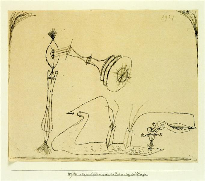 Apparatus for the Magnetic Treatment of Plants - Paul Klee