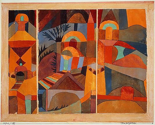 Temple Gardens, 1920 - Paul Klee