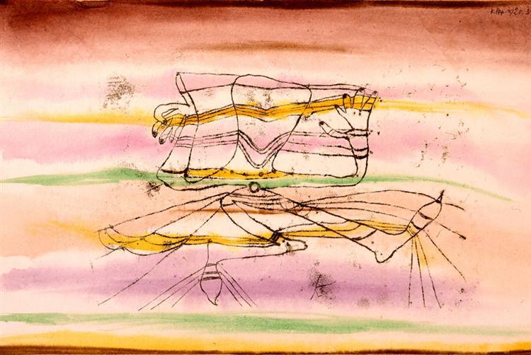 Veil Dance, 1920 - 保羅.克利