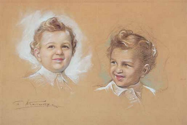Portrait of a Child - Paul Mathiopoulos