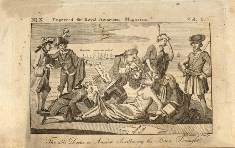 Able Doctor, 1774 - Paul Revere