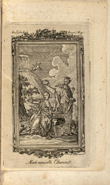 Mme Clairon, 1774 - Paul Revere