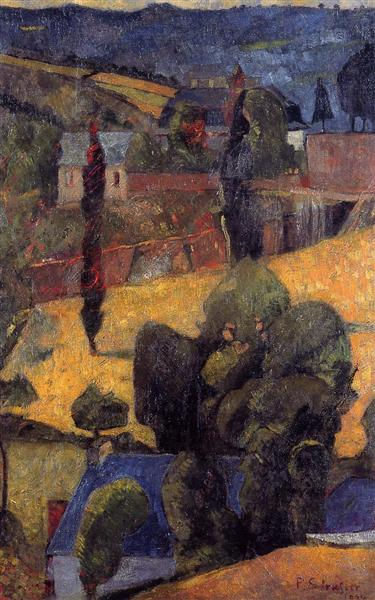 Landscape, 1904 - Paul Serusier