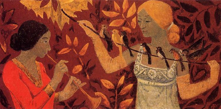 Scene, c.1912 - Paul Serusier