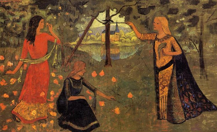 The Youth of Queen Anne, c.1904 - Paul Sérusier