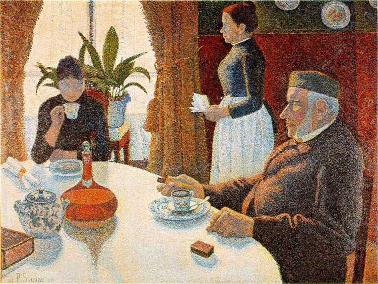 The Dining Room - Paul Signac