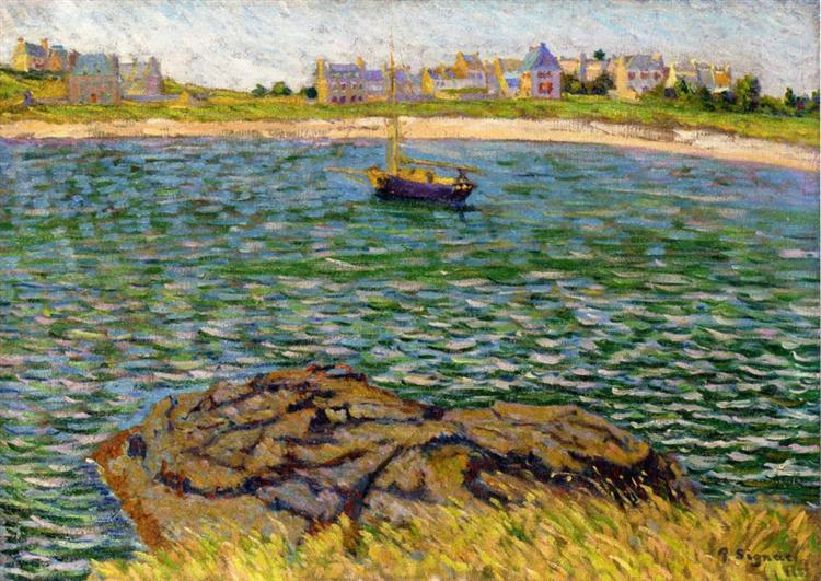 Saint Brac, Le Bechet, 1885 - Paul Signac