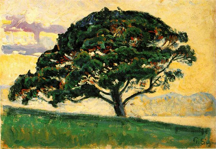 The Bonaventure Pine, 1893 - Paul Signac