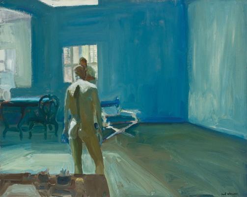 Drawing in the Studio, 1964 - Paul Wonner