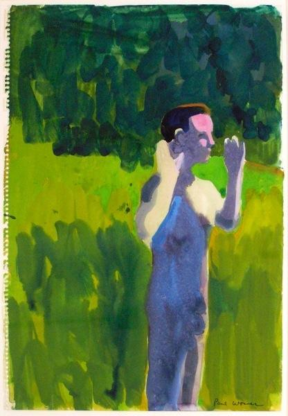Man with Raised Arms, 1962 - Paul Wonner