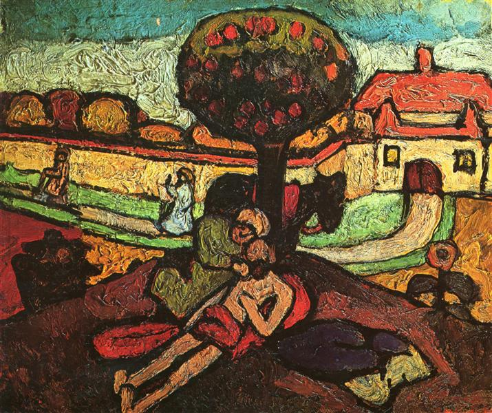 The Good Samaritan, 1907 - Paula Modersohn-Becker