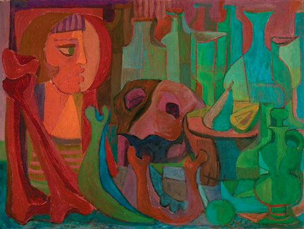 Still Life, 1958 - Pedro Coronel